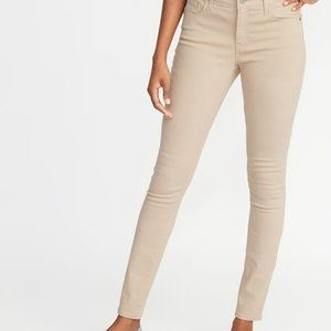 NWT! OLD NAVY ~ Mid-Rise Pop Color Rockstar Skinny